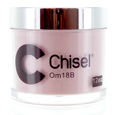 Chisel Nail Art - Dipping Powder - Pink & White Collection - OM18B - Refill 12oz