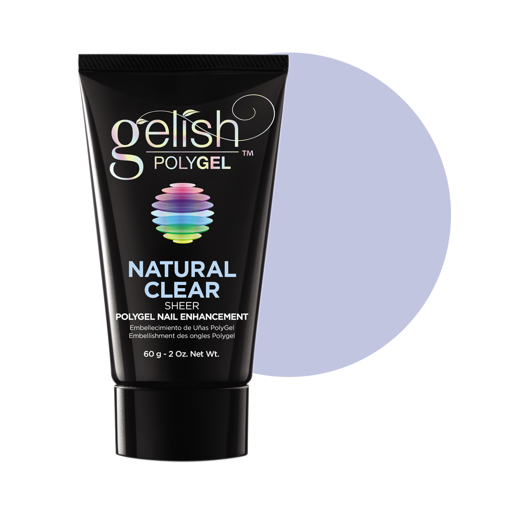 Gelish - Poly Gel Natural Clear - 2 oz