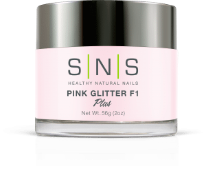 SNS Dipping Powder Pink Glitter F1