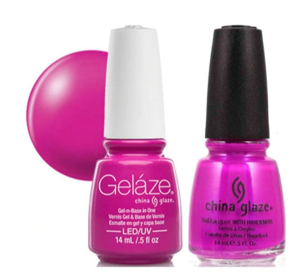 Gelaze Duo Gel - Purple Panic - 0.5oz