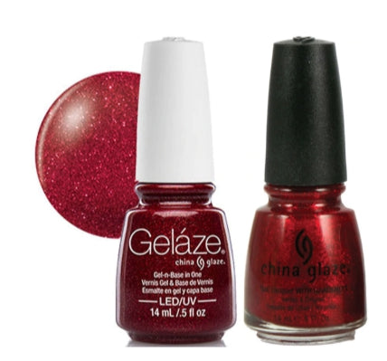 Gelaze Duo Gel - Ruby Pumps - 0.5oz