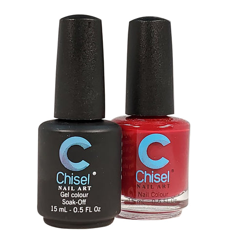 Chisel Matching Gel & Lacquer 0.5oz - SOLID 1