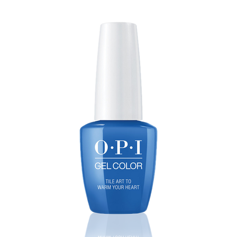 OPI Gel Colors - Tile Art to Warm Your Heart GC L25