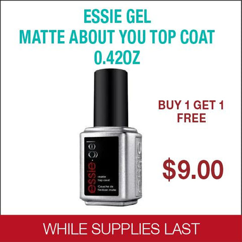 Essie Gel - Matte About You Top Coat 0.42 oz - Buy 1 get 1 free