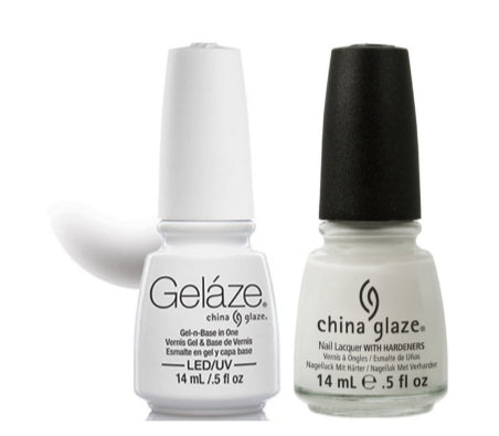 Gelaze Duo Gel - White On White - 0.5oz