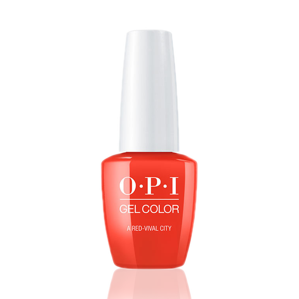OPI Gel Colors - A Red-vival City GC L22
