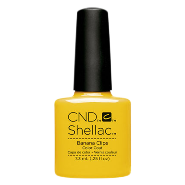 CND Shellac - Soak Off Gel .25 oz - Banana Clips