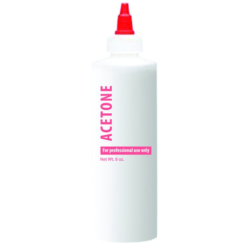 Cre8tion - 8 oz Empty Plastic Bottle for Nail-Related Liquid non Cap