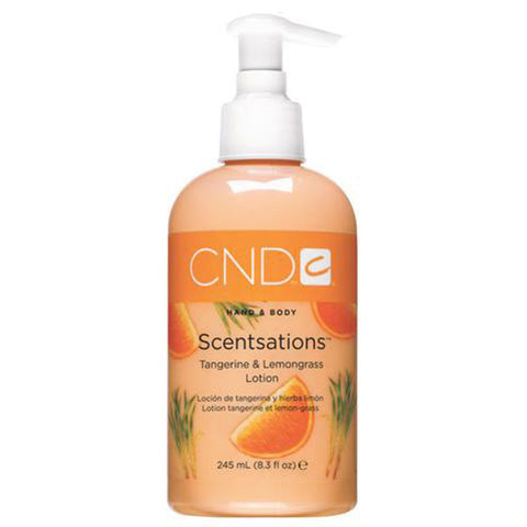 CND - Scentsations Tangarine & Lemongrass Lotion, 8.3 Fl Oz