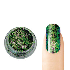 Cre8tion - Nail Art Effect - Chameleon Flakes - C06 - 0.5g