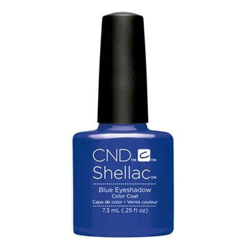 CND Shellac - Soak Off Gel .25 oz - Blue Eyesahdow