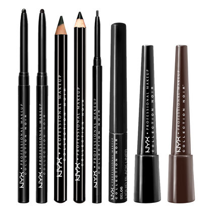 NYX - Collection Noir - Matte Black Liner - Black Shade With A Flat Matte Finish