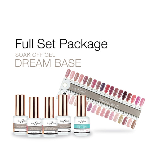 Cre8tion - Dream Base - Soak Off Gel Full Set - 36 Colors Collection