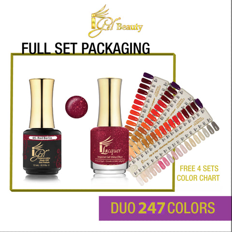 iGel Duo Matching Color  Full line of 247 colors