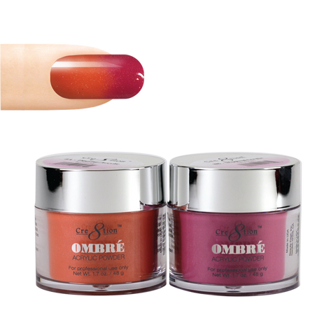 Cre8tion - Ombre Powder Dip & Arcylic - Pair 08