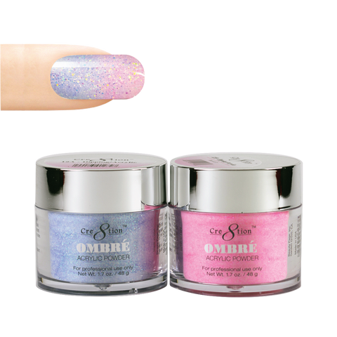 Cre8tion - Ombre Powder Dip & Arcylic - Pair 12