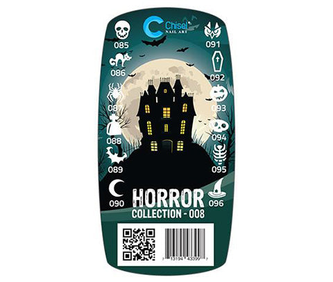 Chisel - 3D Stamping - Horror Collection 008