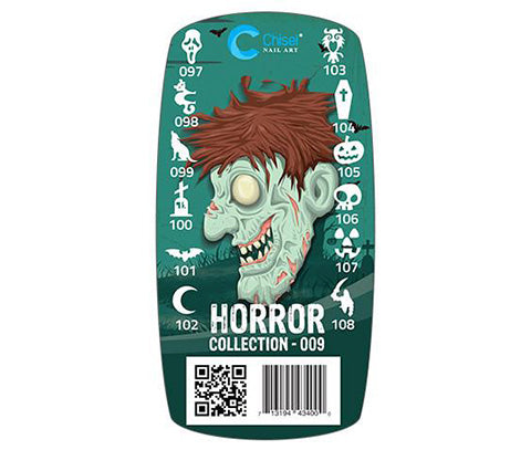 Chisel - 3D Stamping - Horror Collection 009
