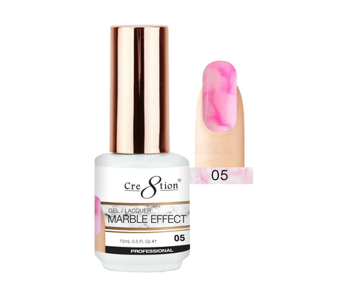 Cre8tion - Marble Effect Soak Off Gel/Lacquer .5oz 05