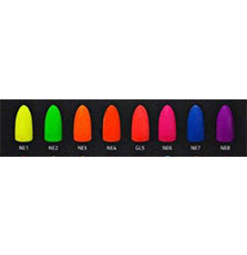 Chisel Nail Art - Dipping Powder -2 OZ - Neon Collection 8 Colors