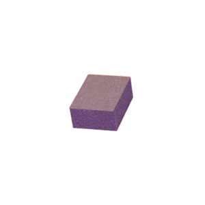 Cre8tion Disposable Mini Buffer Purple White Grit 60/80