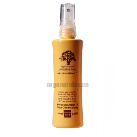 Moroccan Argan Oil - Real Control Spray - 3.4 Fl Oz (100ml)