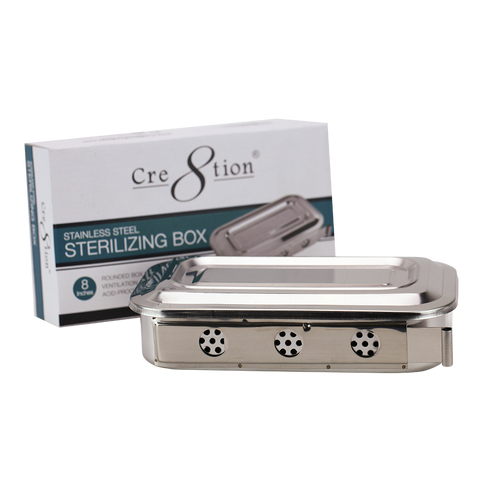 Cre8tion - Stainless Steel Sterilizing Box