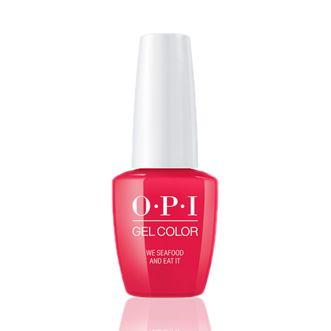 OPI Gel Colors - We Seafood and Eat It GC L20