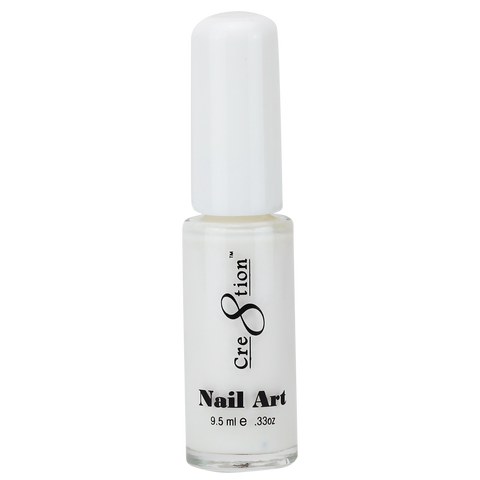 Cre8tion -  Nail Art Design Thin Detailer 02 - White