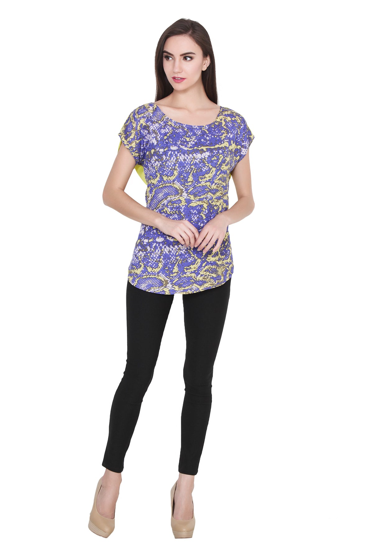 Molecular Structure Printed Top