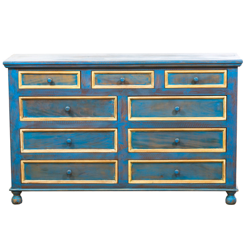 dresser, chest of drawers, wood dresser, solid wood, chiffonnier, commode, reclaimed wood, peroba wood, eco-friendly, boho, boho-chic, vintage, rustic, traditional, accent furniture, cottage, sturdy, Save The Planet, Save The Planet Furniture