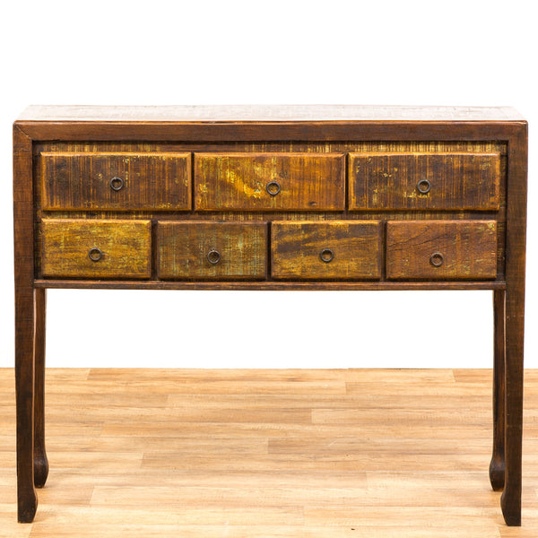 console, console table,peroba wood, peroba, reclaimed wood,