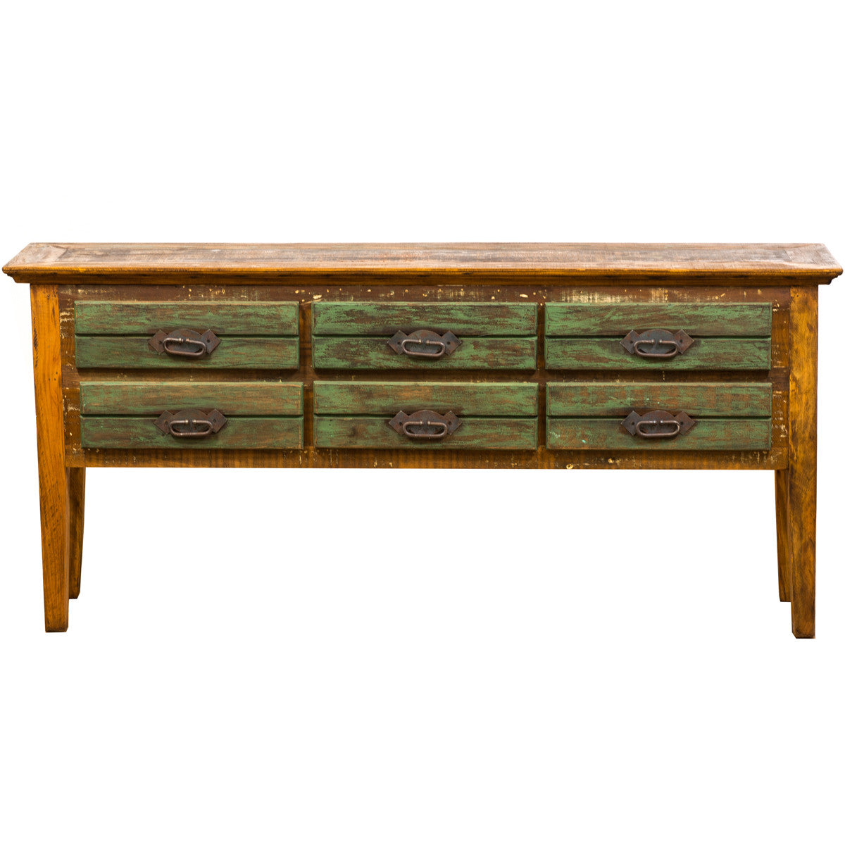 6 Drawer Console Table Save The Planet Furniture ~ Sofa Tables With Drawers