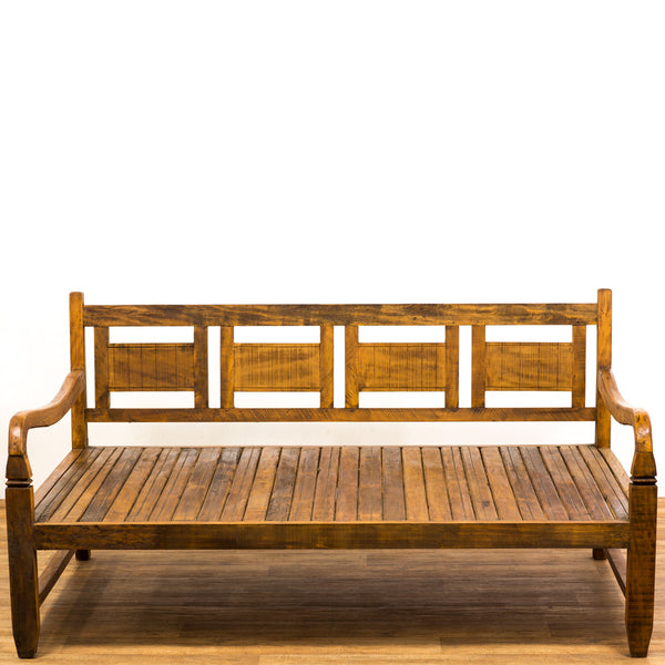 daybed, bench, outdoor bench, outdoor daybed, reclaimed wood,