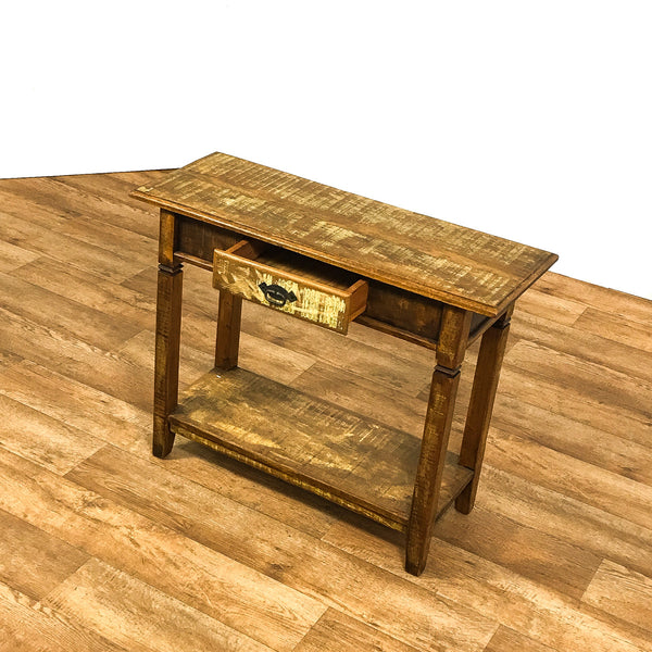 reclaimed console table, console table, reclaimed wood furniture,