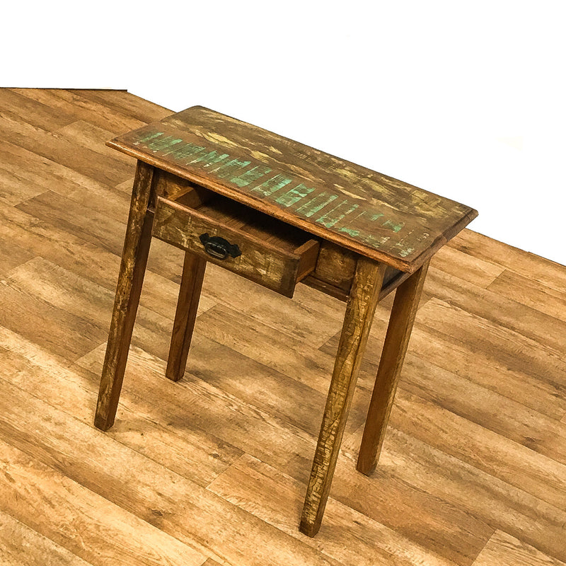console, console table, sofa table, reclaimed wood furniture,
