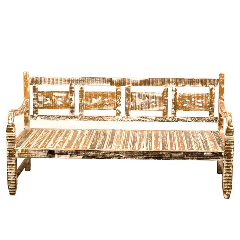 White Daybed Reclaimed Wood