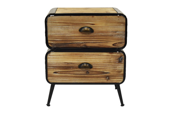 Nightstand Basque 2 Drawers