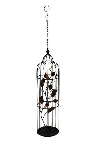 Decorative Lantern Floral Bird Cage LED