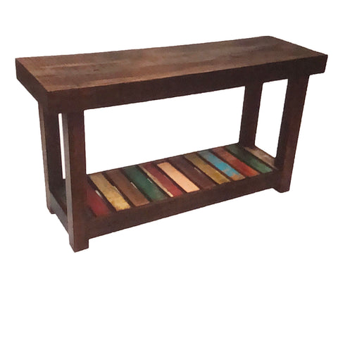 reclaimed wood console table, console table, reclaimed wood furniture,