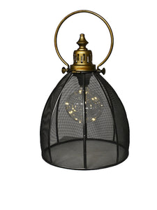 Decorative Metal Lantern Galaxy with LED