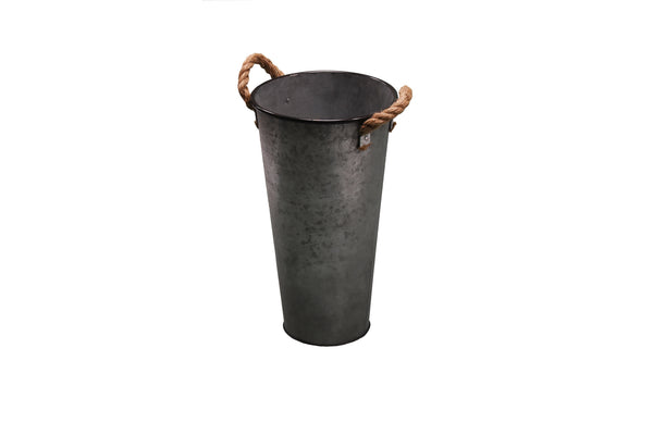 Flower Pot Small Iron Deco FREE  4-Day Shipping