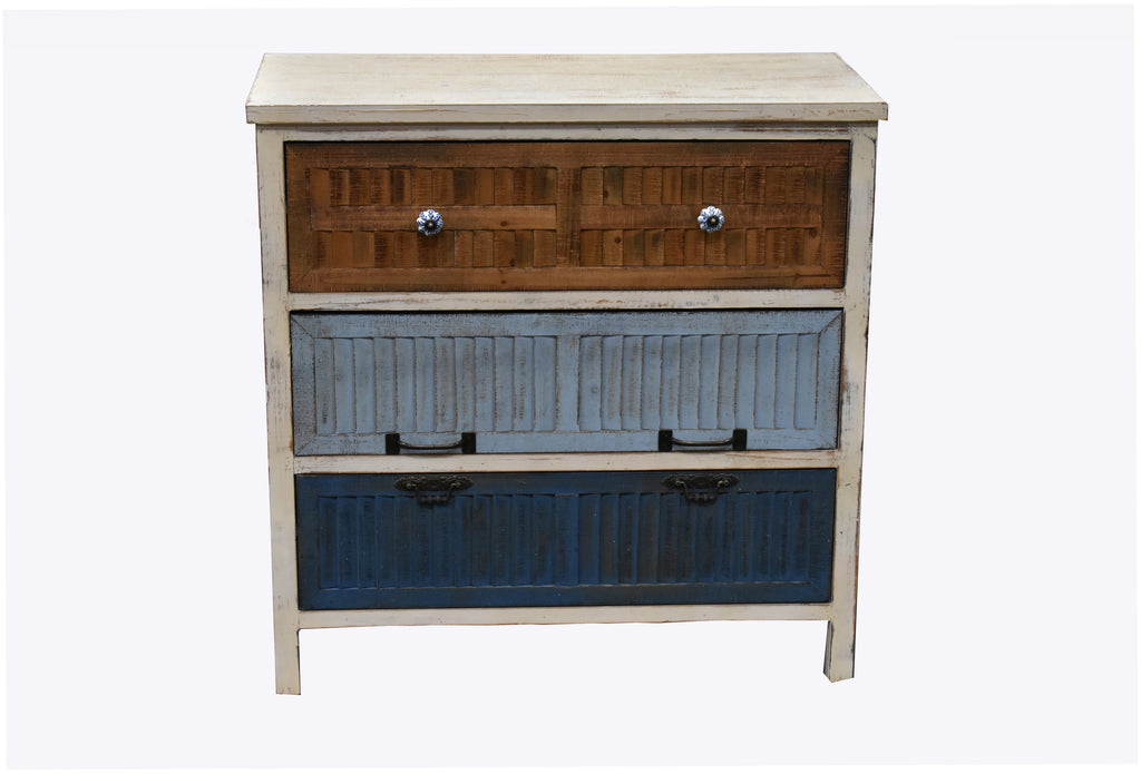 Cabinet Quimper 3 Drawers