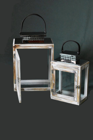 Lantern Window Set Of 2 FREE 4-Day Shipping
