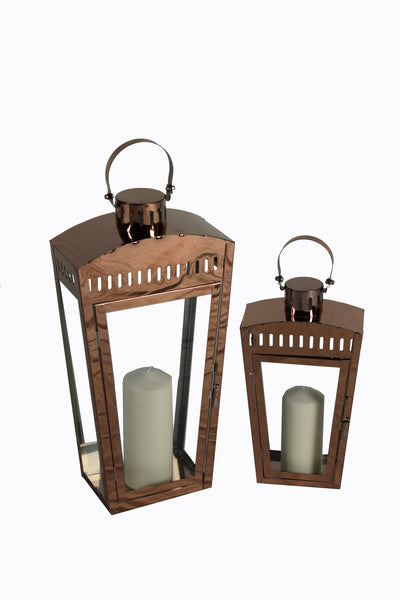 Lantern Iron Set Of 2 FREE 4-Day Shipping