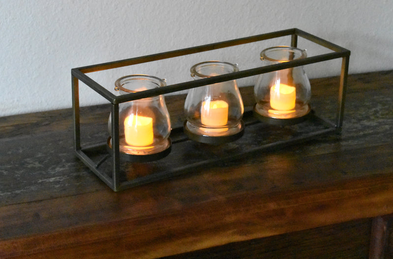 Flameless Candles Iron  FREE 4-Day Shipping