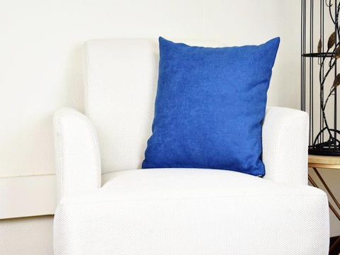 Kit Cushion Classic 5 Colors OCEAN BLUE/Throw Pillow Set of 2 FREE 4-Day Shipping