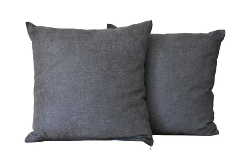 Kit Cushion Classic 5 Colors SMOKE GREY/Throw Pillow  Set of 2 FREE 4-Day Shipping