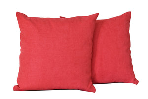 Kit Cushion Classic 5 Colors WINE/Throw Pillow Set of 2 FREE 4-Day Shipping