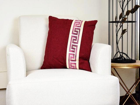 Cushion Labyrinth Design/Throw Pillow